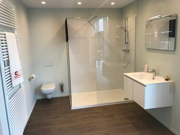 goedkope badkamer vloer