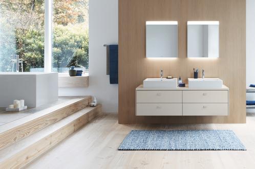 badkamer inrichten 2 lavabos