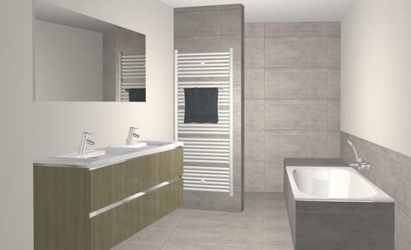 3D salle de bains