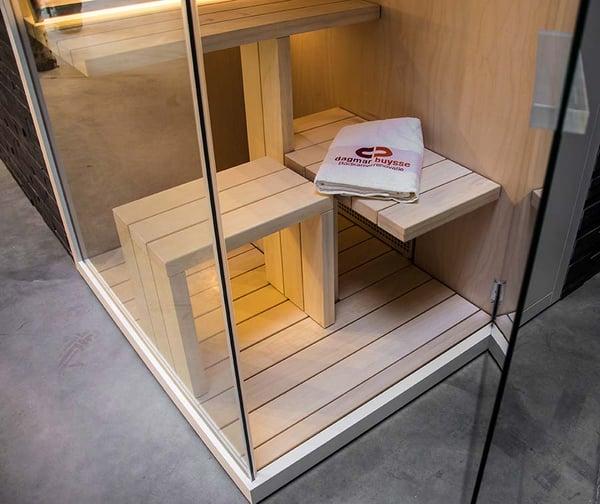 badkamer  sauna