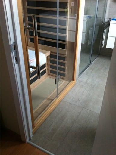 rénovation de salle de bains infrarouge