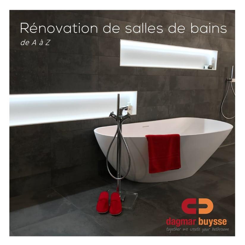 Dagmar Buysse - E-book - rénovation salle de bains
