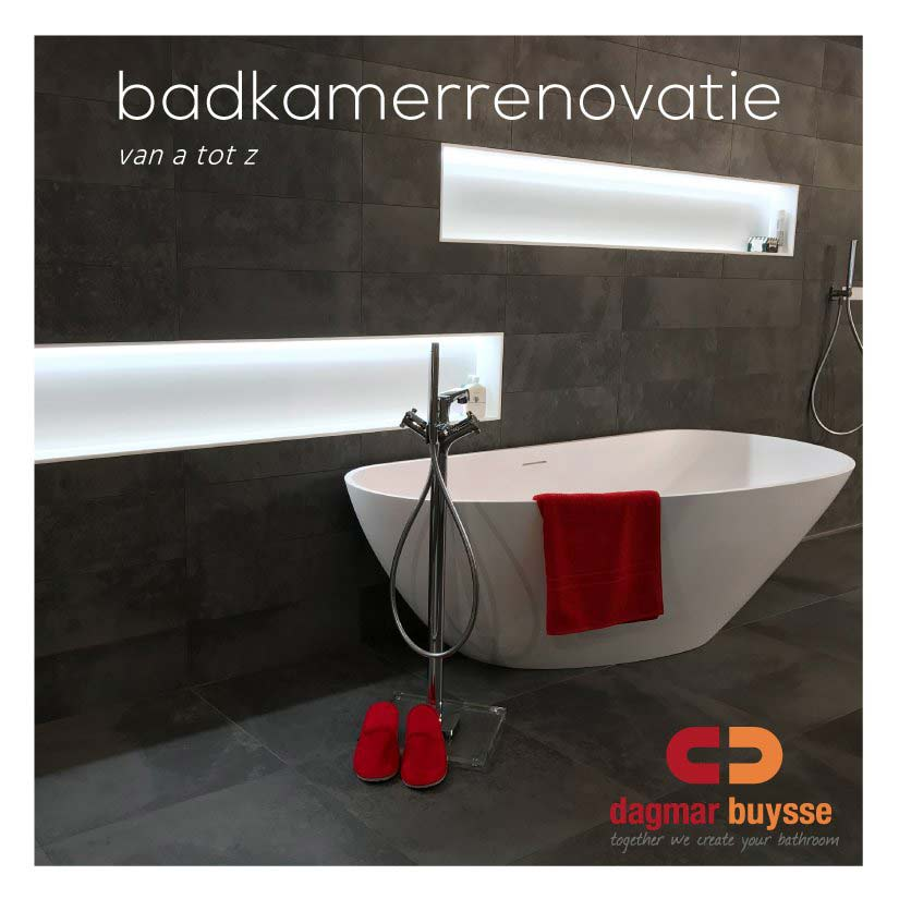 Dagmar Buysse - E-book - badkamerrenovatie