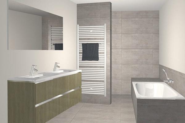 outil 3D salle de bains