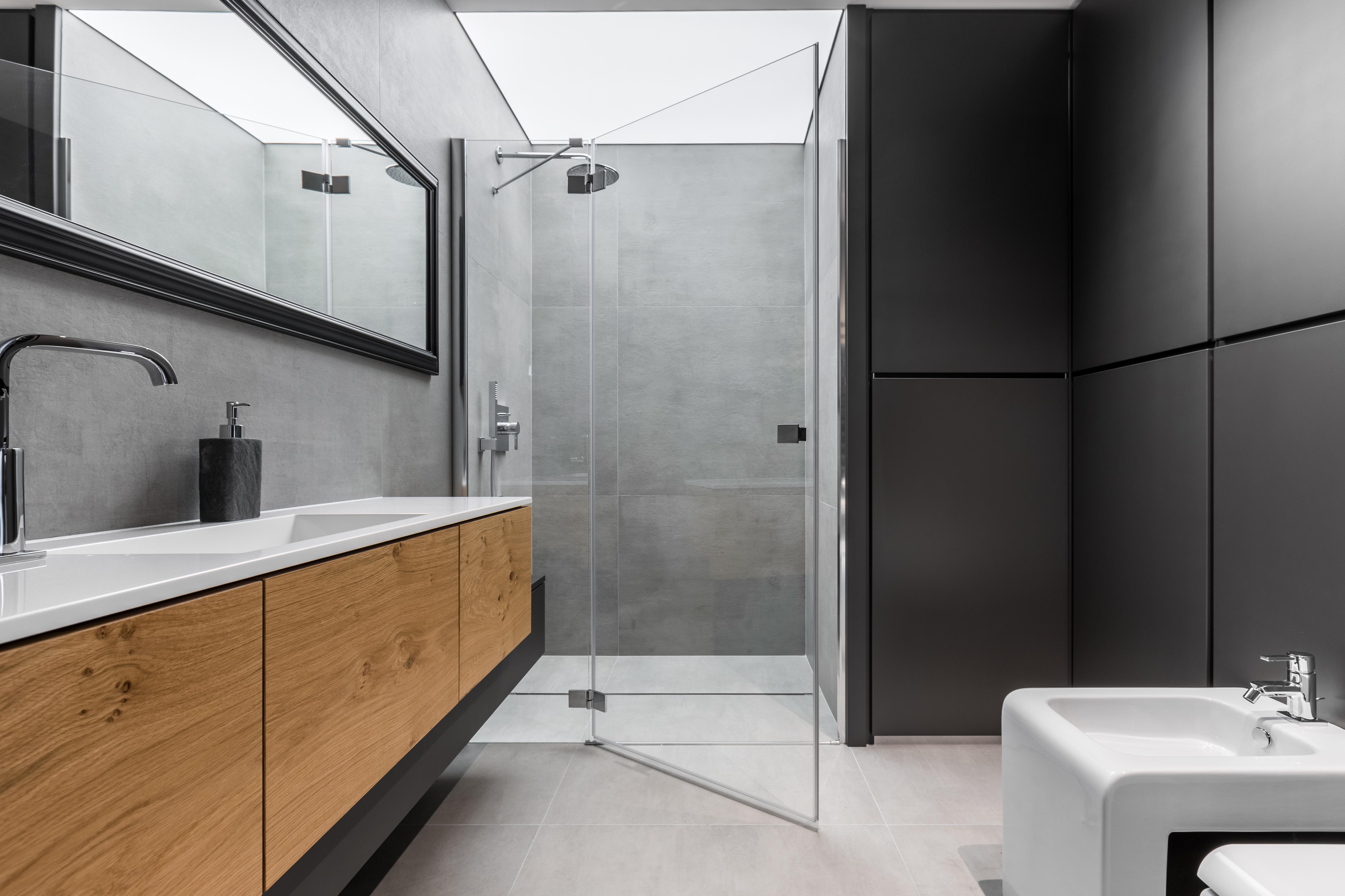 badkamer inrichten douche