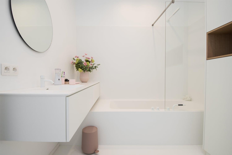 naadloze badkamer